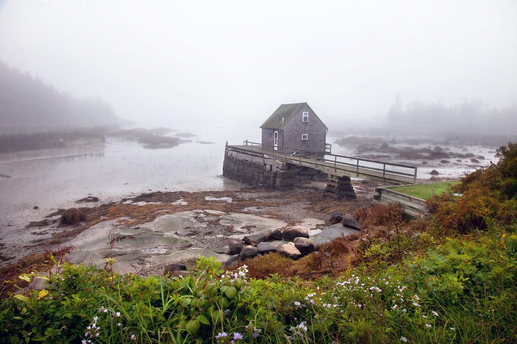 'Lobster Village,' United States, Maine, Deer Isle, Stonin… | Flickr