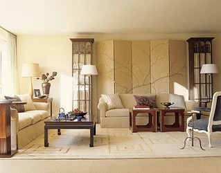 Neutral Living Room Benjamin Moore Powell Buff One Of