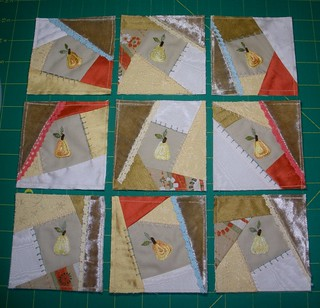 "October ""Crazy Quilt"" Bitty Blocks..... 