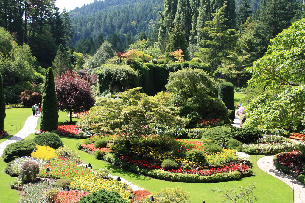 Butchart garden butchart garden christine wagner flickr for Jardines butchart