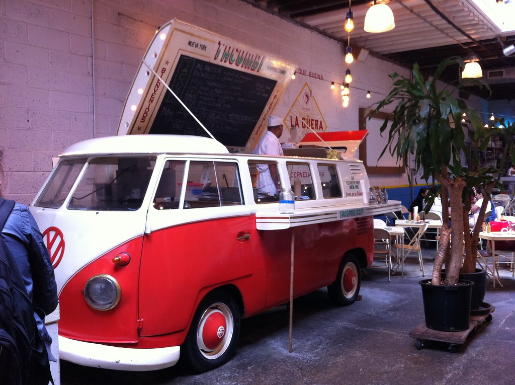 New Volkswagen Bus >> A vw bus in a restaurant | Adorable! Yes, it's a food truck … | Flickr