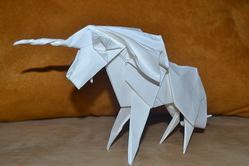 Unicorn (Design by Román Díaz) | by Origamiancy