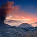 Mount Bromo Sunset