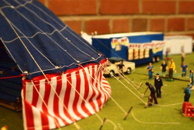 Miniature Circus Tent Setup The Great Ny State Fair