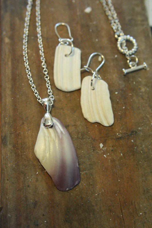 Shell Jewelry Made From Shell Shards I Collected In