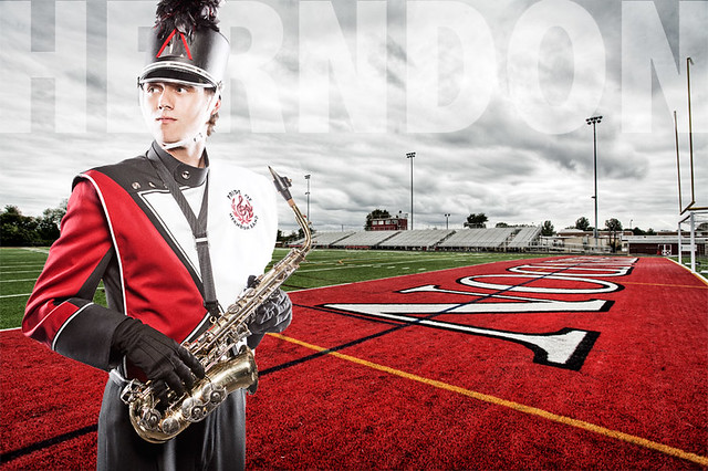 Herndon High School Band Woodwind Captain Flickr