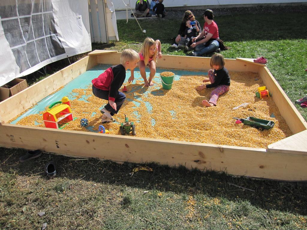 Kids And A Sandbox Video