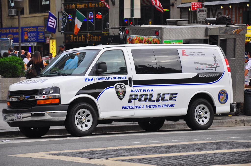 Amtrak Police Chevrolet Express Rmp Triborough Flickr