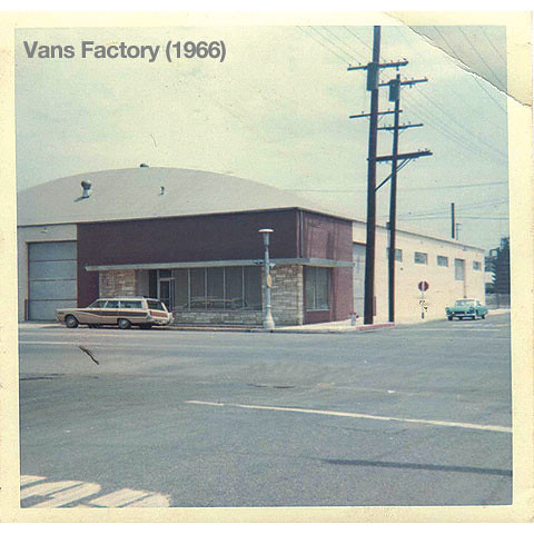 Vans First Factory by Tony Radford
