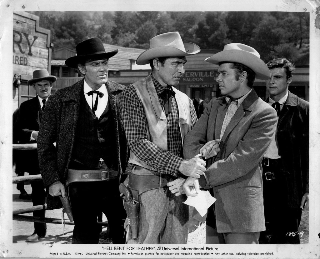 Hell Bent For Leather 1960 Audie Murphy Addie