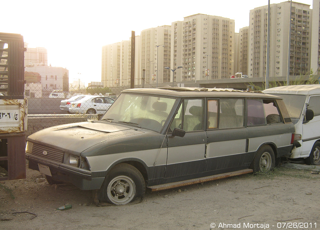 Old White Land Rover >> VERY RARE !: Abandoned Rapport Range Rover | The main reason… | Flickr