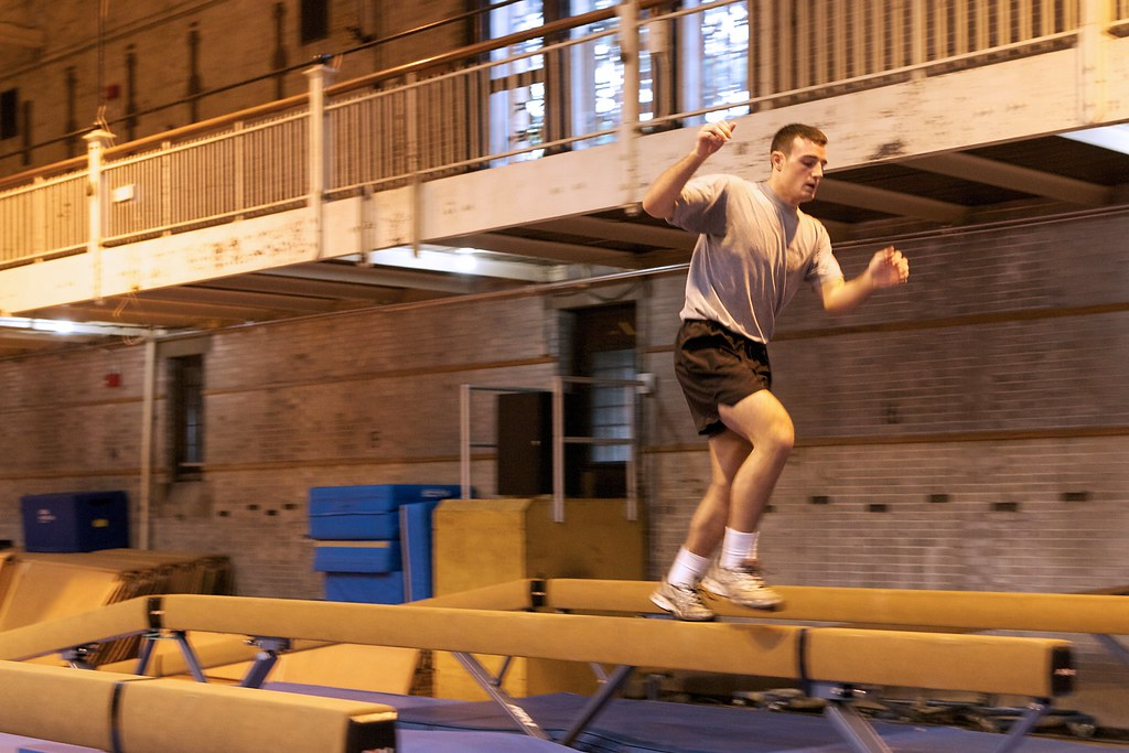 Balance Beam 1 More Than 300 Hundred Cadets Took One