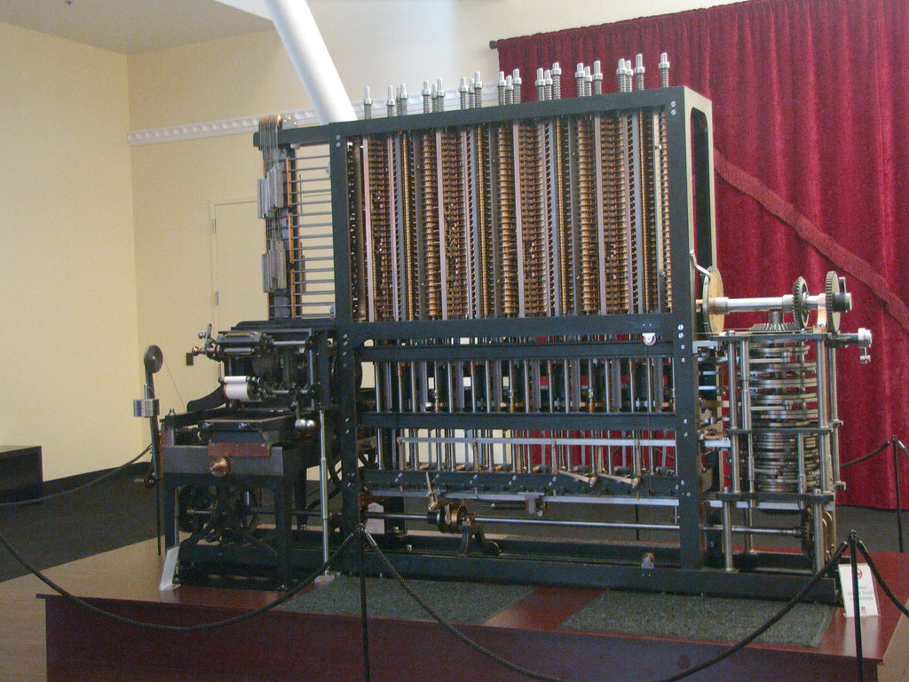charles babbages difference engine     diffe flickr