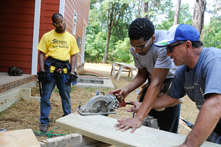 Students Volunteer at Habitat for Humanity | by UT-Chattanooga