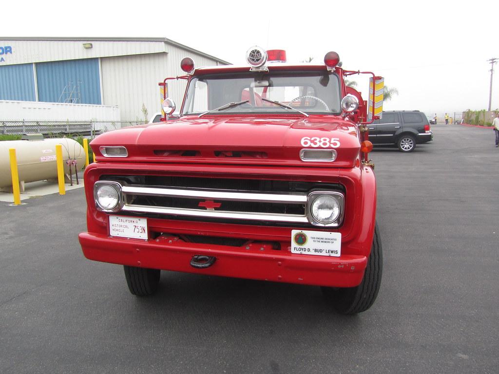 Chevrolet Model 60 Cdf Fire Truck 1963 Ramona Air