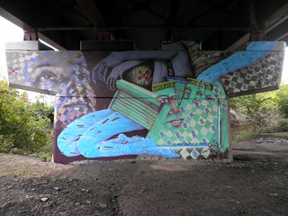 Mural for the Riverfront Park, Rensselaer, NY | by O V E R U N D E R