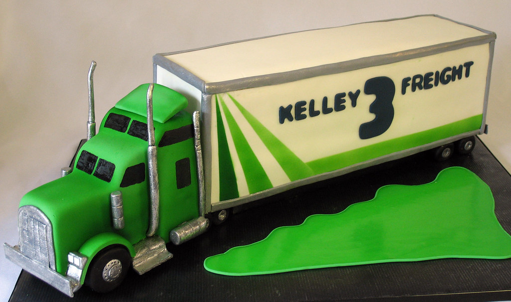Happy Birthday Cake Truck
