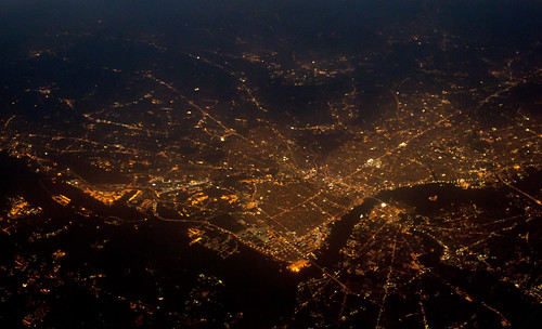 2011 05 31 - 4969,4971,4972b - Philadelphia - Night Aerial | by thisisbossi