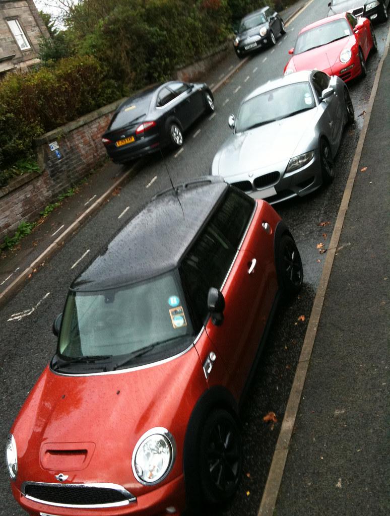 Family Cars, Mini Cooper S, BMW Z4M, Porsche 911 Cs