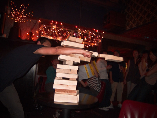 The Giant Jenga Set That Insulted Mike on His Bday | by noogiee