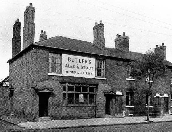 kings arms public house  dudley road  wolverhampton  early