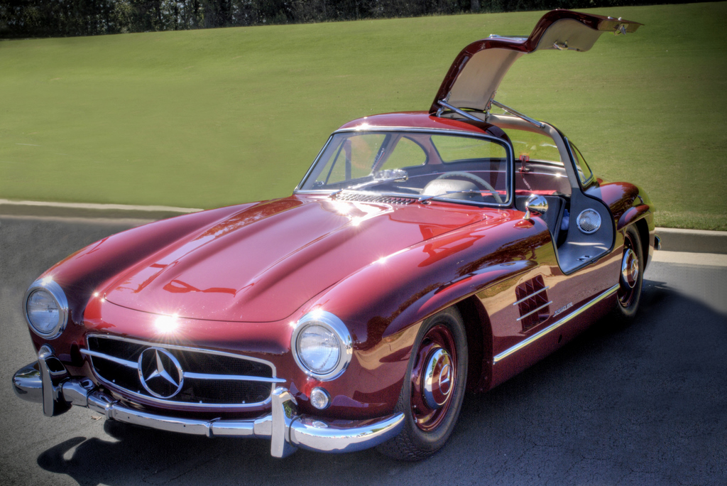 ... Mercedes Benz 300SL Gull Wing Coupé | By StGrundy