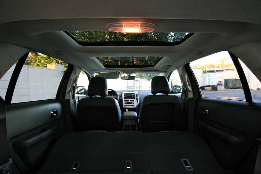 2010 Ford Edge Panoramic Sunroof First Sunroof Extends