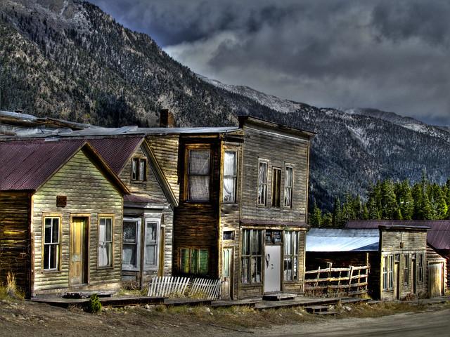 St elmo ghost town colorado buildings flickr photo for St elmo colorado cabins