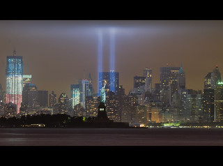 September 11, 2011: The 2011 Tribute in Lights (9/11 Memorial) | by RBudhu
