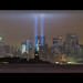 September 11, 2011: The 2011 Tribute in Lights (9/11 Memorial)