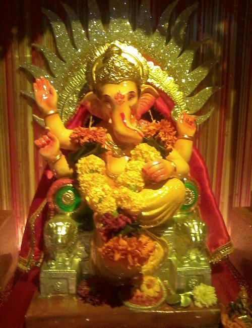 ... Ganpati Decoration At Home::ganpati Decoration At Home Photos | By  Morya21