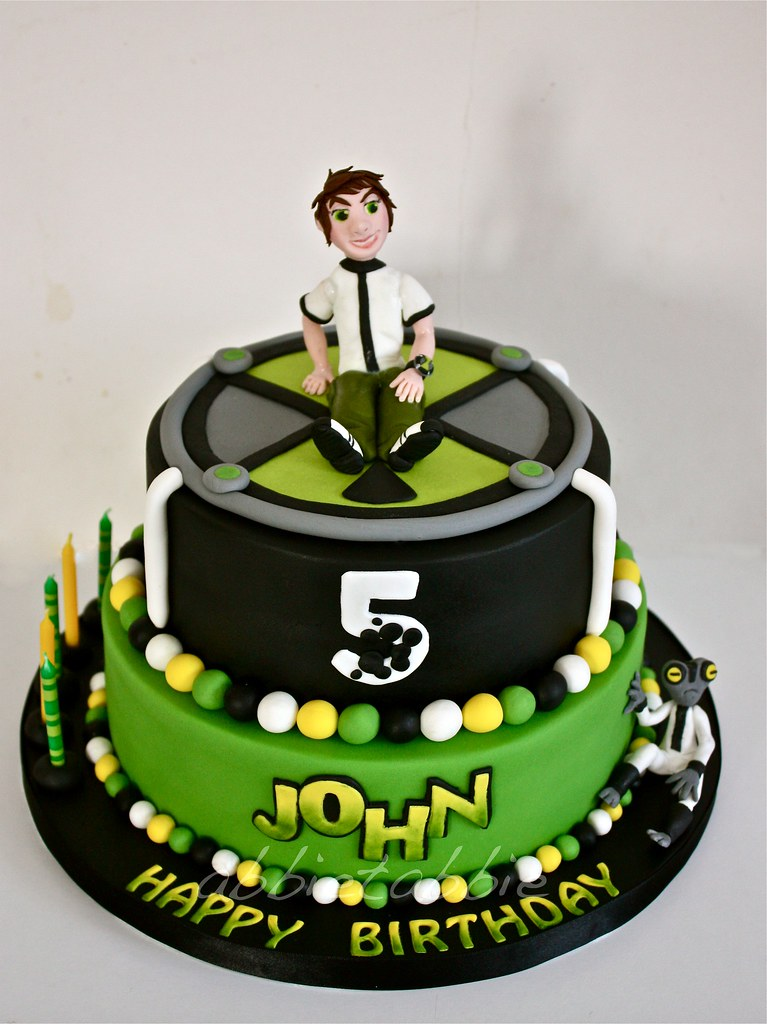 Ben 10 A Birthday Cake For The Grandson Of A