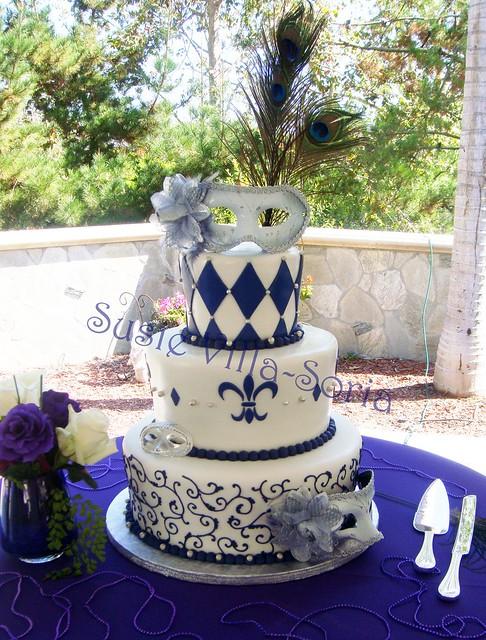 Masquerade Style Cakes