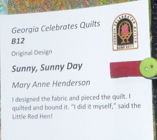 """Sunny, Sunny Day"" by Mary Anne Henderson - Info 