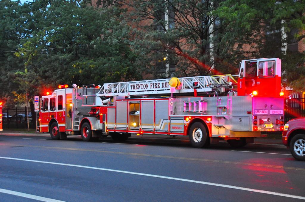 Trenton Fire Department Ladder 2 Triborough Flickr