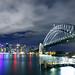 Night Sydney Panorama