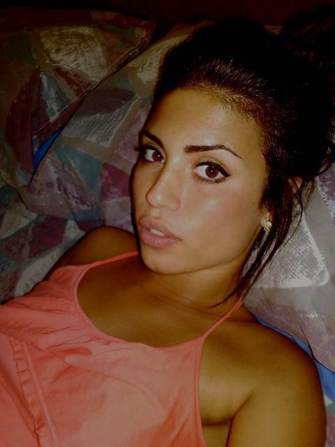 Beautiful Greek Girl Resembling Mediterranean Beauty And C -8957