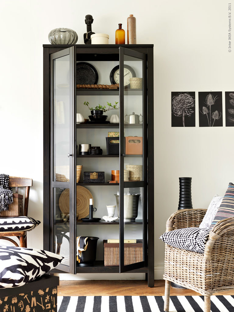Ikea Livet Hemma {black and white scandinavian modern livi\u2026 | Flickr