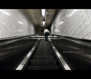 Day 340: The Escalator Up | by thezartorialist.com