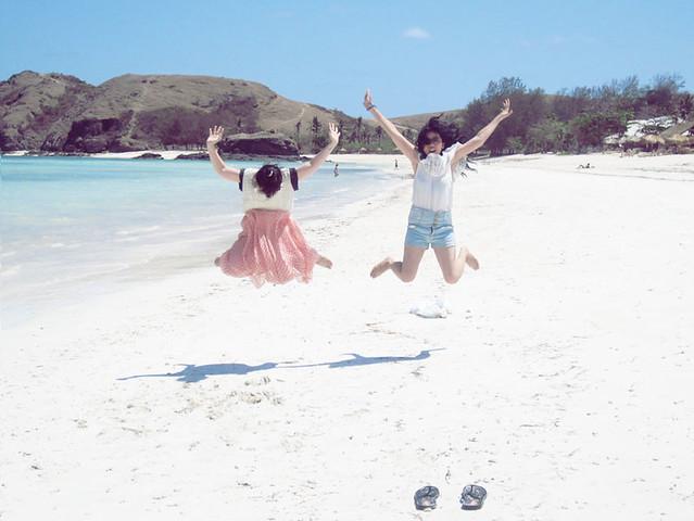 pantai pasir putih lombok ntb indonesia explore