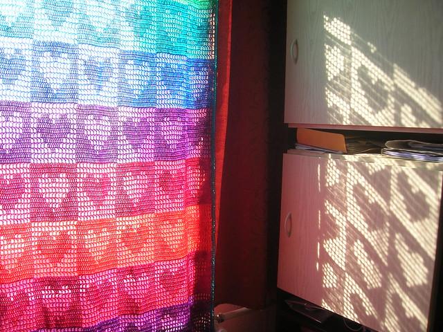 Thread Crochet Valance