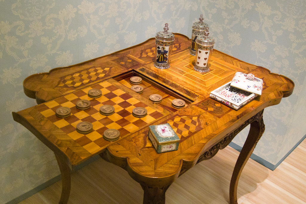 Game Table Antique Furniture