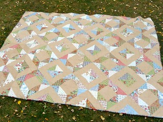Nostalgic Diamonds Quilt | by CoraQuilts~Carla