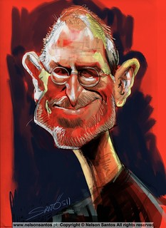 Steve_Jobs_Ipad_Caricature [Copyright Nelson Santos] | by caricaturas