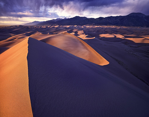 Great Sand Dunes - Colorado - 4x5 Velvia 50 | by Zach Boumeester