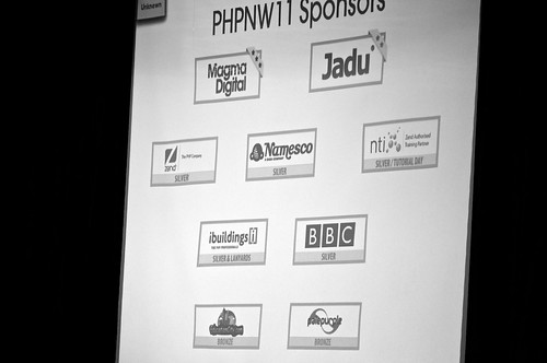 PHPNW11 Conference Sponsors List | by Stuart Herbert