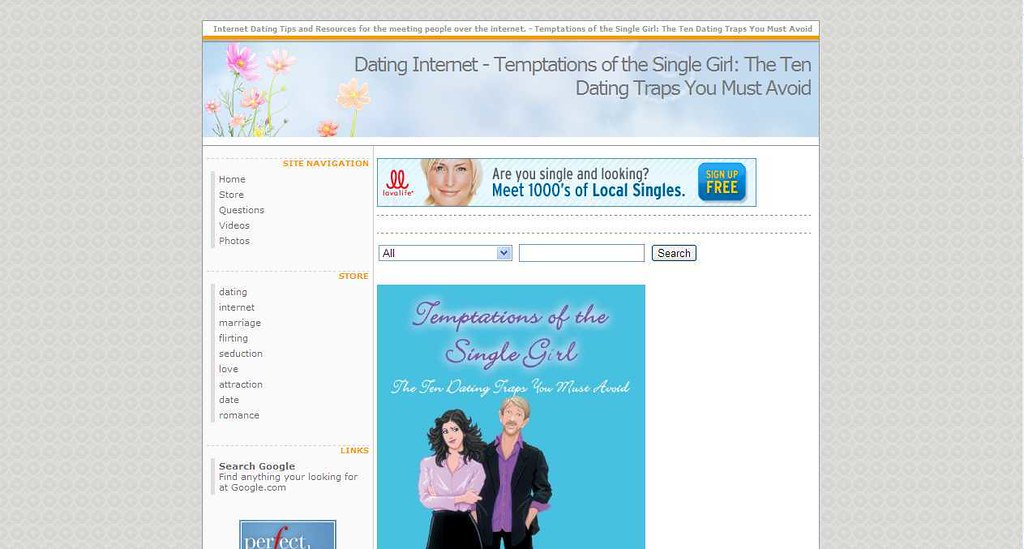 Temptations dating site