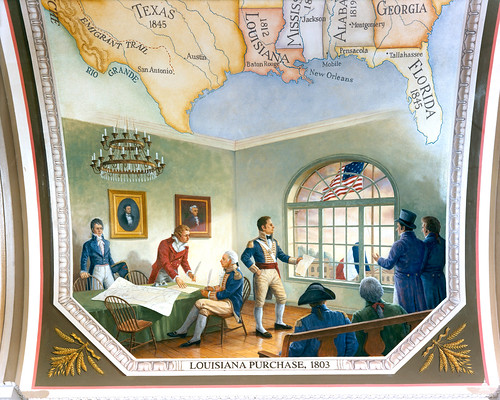 Louisiana Purchase, 1803 | by USCapitol