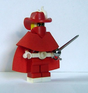 Red Mage | by ChocoBricks Customs