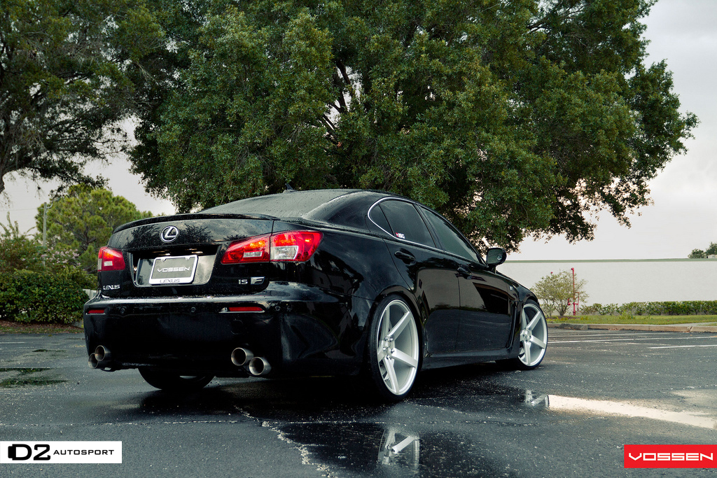 Lexus F Sport >> Lexus IS-F Vossen CV3 877-361-0296 | Vossen CV3 Matte ...